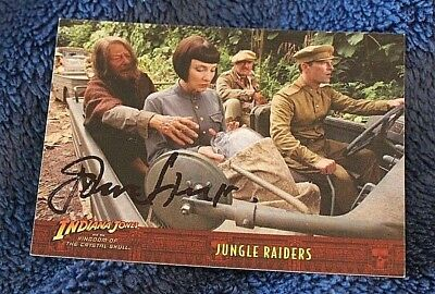 INDIANA JONES Movie Trading Card Hand Signed AUTOGRAPHED The Late JOHN HEARD
