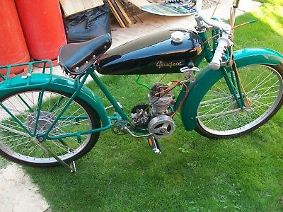 Classic Motorcycle French Peugeot 1933 P51 Bma Model