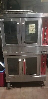 Vulcan NG-SG4D-1 Convection Oven, Double Stack, Gas