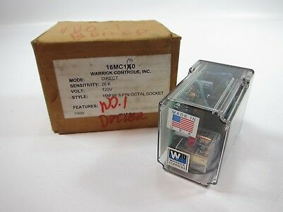 New Warrick Controls 16MC1A0 8 Pin Solid State Relay