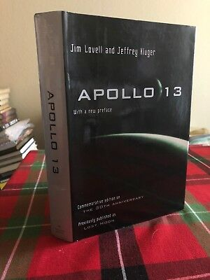 *SIGNED COPY* APOLLO 13 James Jim Lovell NASA astronaut 2nd Printing Lost Moon