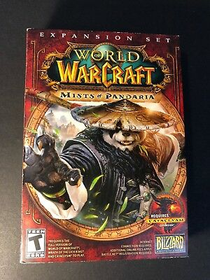 World of Warcraft [ Mists of Pandaria Expansion Set ]  (PC/ DVD-ROM) NEW