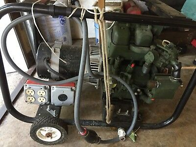 Army Surplus 3,500 Watts Generator