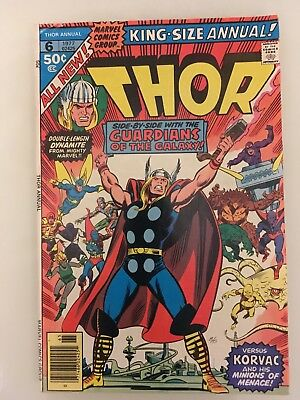 *** Marvel Comics Thor Annual #6 Guardians Of The Galaxy F ***