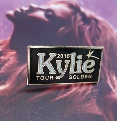 ♡♡kylie♡♡ GOLDEN TOUR 2018 ♡ PIN BADGE LIMITED NUMBER LEFT NOW ♡Only 500 made ♡♡