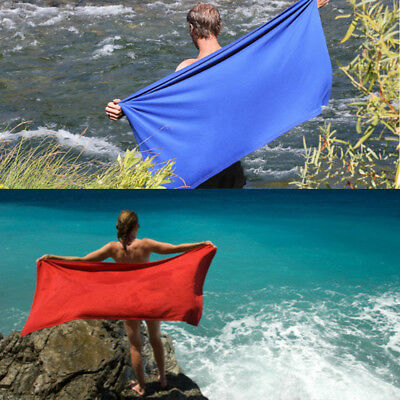 Outdoor Travel Camping Microfiber Quick-Drying Towel Shower Beach V0C6G