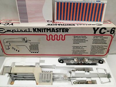 Empisal - KNITMASTER YC6 - Single And Double Bed Colour Changer
