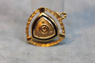 Vintage Western Electric We 10Kt Gold Filled 2 Star Years Of Service Pendant