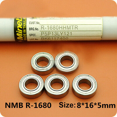 NMB Imported Mini Ball Bearings 618//6Z 686ZZ 686-2Z Size 6*13*5 Thickness 3.5mm