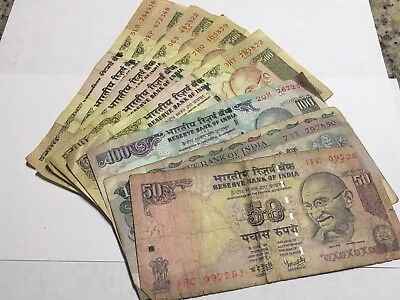 2700 Rupees Indian Old Bank Notes