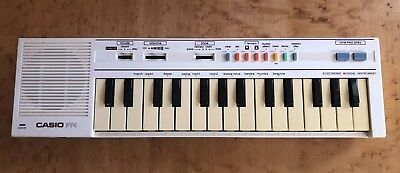 Casio PT-1 Mini Electronic Keyboard Synthesizer Piano Musical Instrument