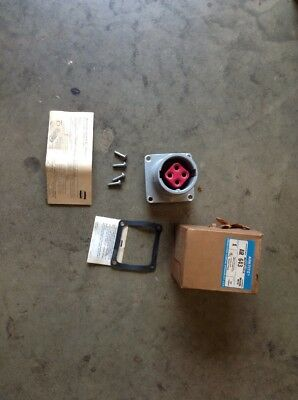 Crouse-Hinds Arktite AR643-M72 60 AMPS 4 W 4 P 600 VAC Receptacle