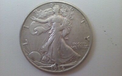 1936S XF Walking Liberty Half Dollar
