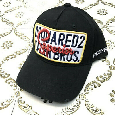 2019☀New☀DSQUARED2 NEW Design Snapback Baseball Cap* Limited Addition Rare 2019