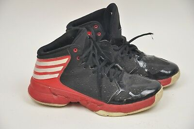 15d7a63edd3 Kid s ADIDAS Mad Handle Red White Black BASKETBALL Size 6 Hi-Top Sneakers