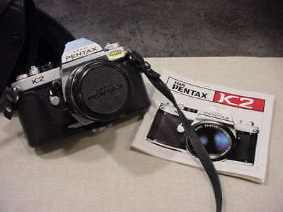 Asahi Pentax Camera K2 With Lens & Case Excellent Condition!!!!