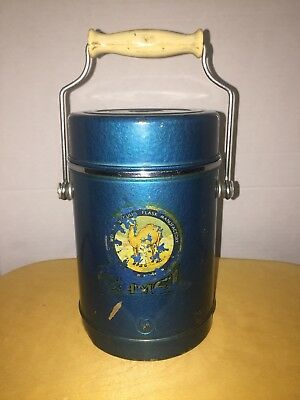 Vintage Camel Cigarettes Thermos Lunch Pail Jar RARE CAMEL JOE Flask Ice Bucket