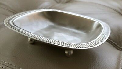 Vintage Wmf-Ikora 6283 Silver Footed Tray Germany Silverplate