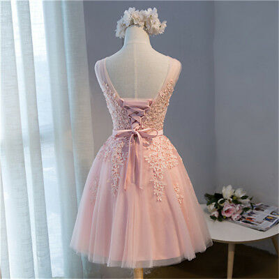 52a45b81cfb Short Evening Formal Party Dress Prom Ball Gown Homecoming Bridesmaid New