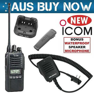 Icom Ic-41Pro Uhf Cb Two Way Radio Ic 41 Pro Portable Handheld Hand Held Gme Car