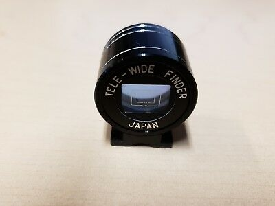 Tele-Wide Finder Made in Japan