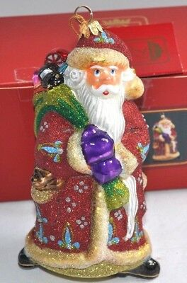 Kurt Adler Polonaise Glass Ornament AP2355R