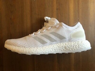 c857c18846a76 adidas PUREBOOST CLIMA BA9058 Shoes Running White Gray Chalk Pure Boost 9  Men s