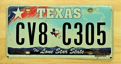 Texas The Lone Star State License Plate Auto Car Vehicle Tag Item #902