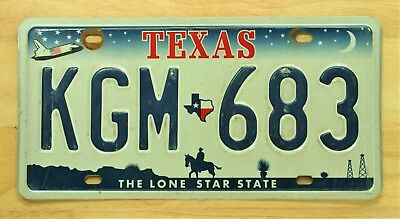 Texas The Lone Star State License Plate Auto Car Vehicle Tag Item #905