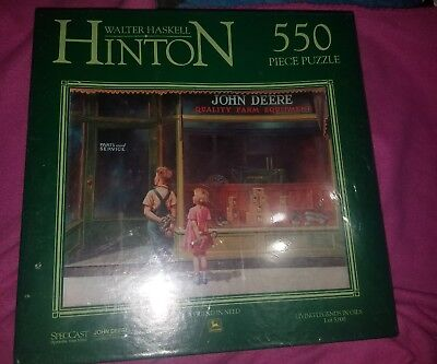 Walter Haskell Hinton John Deere Painting puzzle 550 pieces