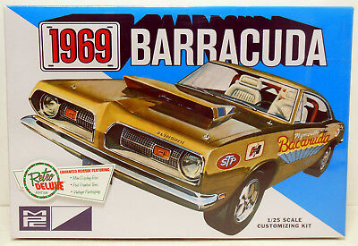 Retro Deluxe MPC 1969 Plymouth Barracuda  Kit Sealed