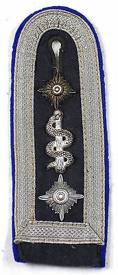 WW2 Original German Air Force Medical Sergeant Major's Shoulder Board