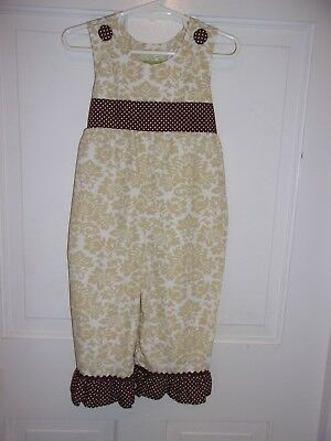 Boutique Stellybelly not smocked onepiece/outfit 18M  Fall