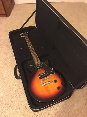 Sunburst, Cozart Electric Guitar With Road Runner Case And Strap