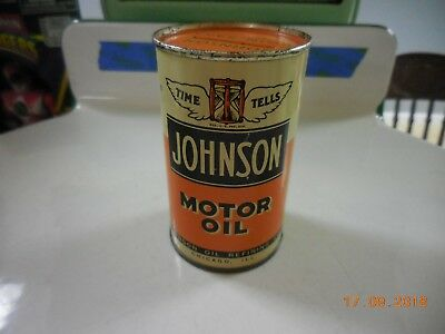 Vintage Johnson Oil Can Bank
