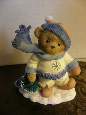 CHERISHED TEDDIES ~ DUSTIN 4013417 May Your Christmas Be Ever-Green!   NEW