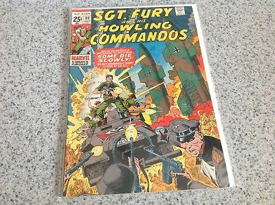 Marvel Comics Sgt, Fury and His Howling Commandos. 14 Issue Lot