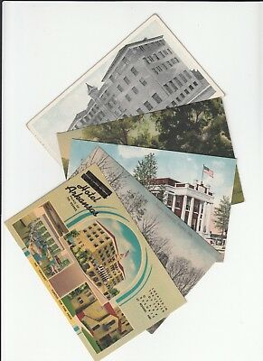 Lot of 5 Rogers AR Arkansas Vintage Era Postcards Progressive Life Hotel Cows