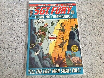 Marvel Comics Sgt, Fury and His Howling Commandos. 7 Issue Lot
