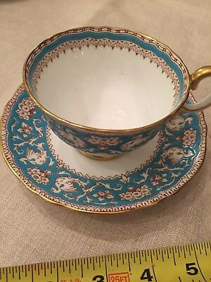 "Crown Staffordshire fine bone china tea cup and saucer ""ELLESMERE"""