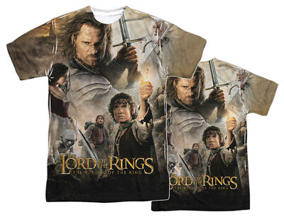 "The Lord Of The Rings Trilogy ""King Poster"" Dye Sublimation T-Shirt"