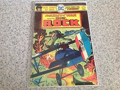 DC Comics Our Army at War Sgt. Rock. 8 Issue Lot