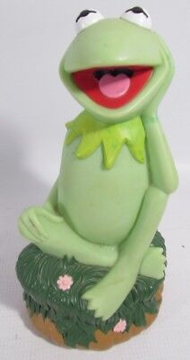 Vintage Applause Disney Muppets Kermit the Frog Piggy Bank