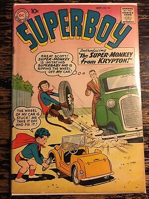 Superboy # 76 First Supermonkey (DC) Combine Shipping Discount CGC It