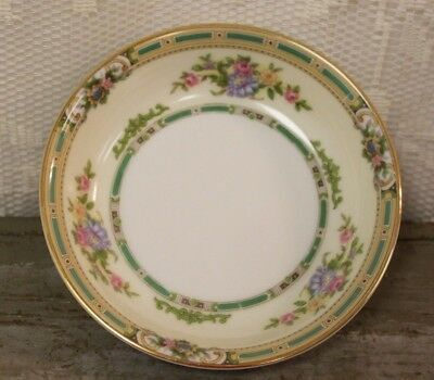 "Antique C. 1931 Noritake China ALICIA #35762  5 5/8"" Fruit / Dessert Sauce Bowl"