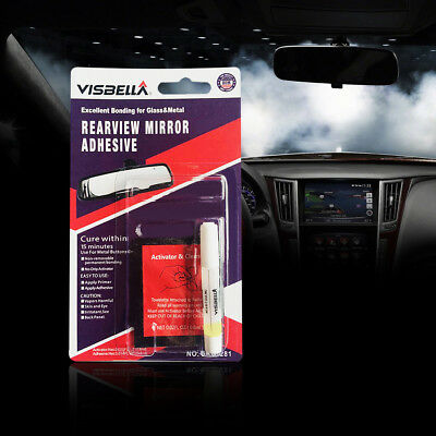 Professional Permanently Car Auto Windshield Rearview Mirror Adhesive Glue
