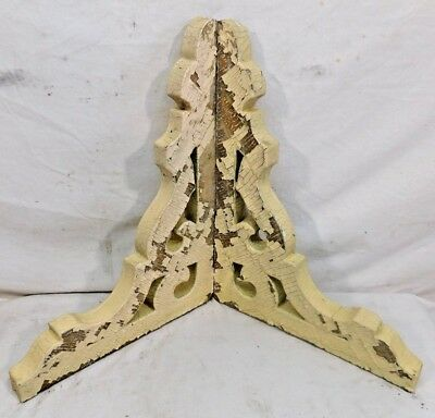 Two Antique Victorian Scrolled Corbels Brackets - C. 1885 Architectural Salvage
