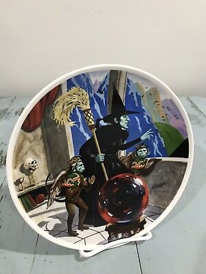 Wizard of Oz Plate Wicked Witch