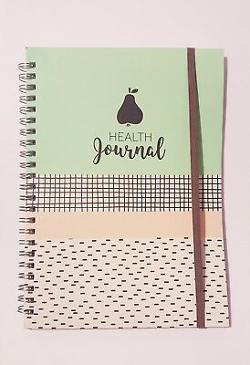 Health Fitness Gym Journal Tracker Diet Exercise Lifestyle Weight Loss Diary