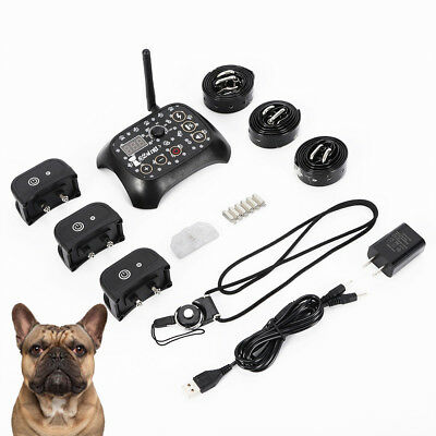 2018 Wireless Dog Fence No-Wire Pet Containment System Rechargeable & Waterproof